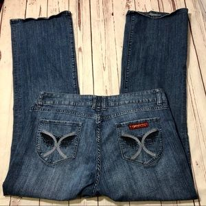 Vintage 80s Sasson Bootcut Boogie Jeans Size 18